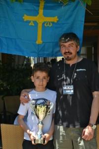 Campeón Jonás y  Trainer Lobo, Salobreña 2013