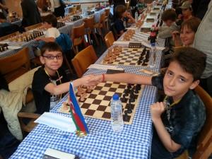 Jonás en su encuentro contra el azerí Teymur Huseynov