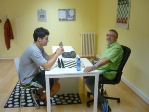 Kaká y Jesús, en una sesión de trabajo