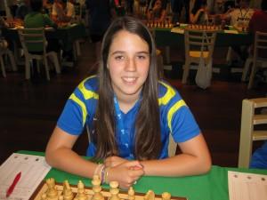 Sara ha pasado por la selección regional infantil, cadete y absoluta, ¡siempre con una gran sonrisa!
