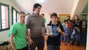 Óscar Poblet, mejor clasificado sub-16