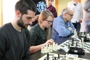 Nacho Montes, Lucía Fidalgo y JA Marcos Robles