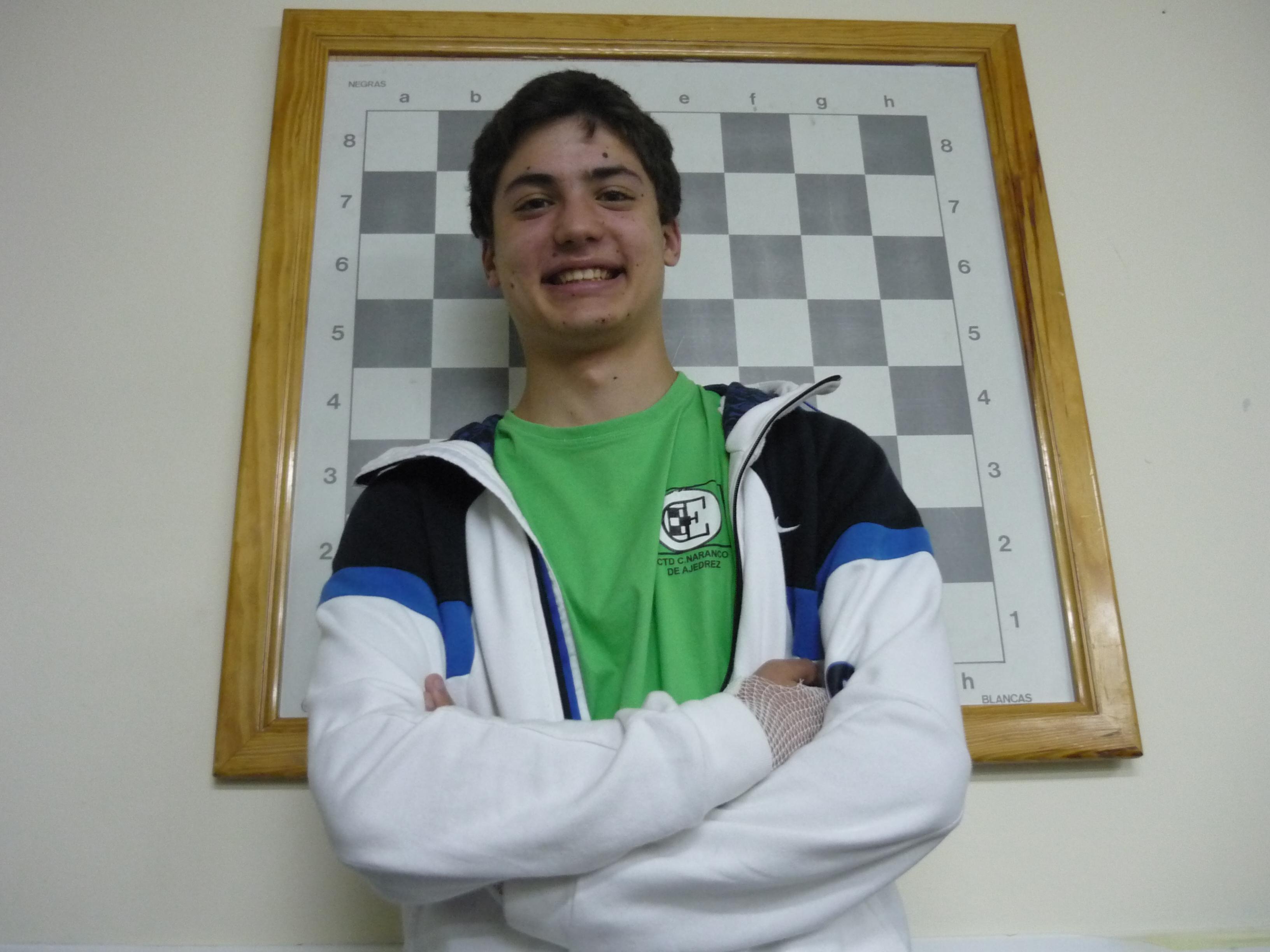 Carlos Suárez Campeón de Asturias Absoluto