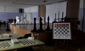 Salón de actos del colegio
