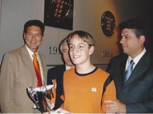 Sergio Guerrero, junto a M.Illescas y J.Ochoa