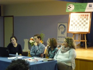 Mesa redonda: profesora Noemí de Castro