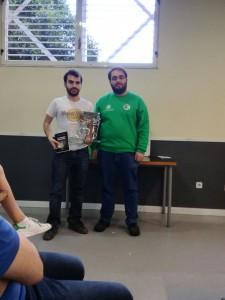 Luís Marcos, campeón por tercera vez (no consecutiva)