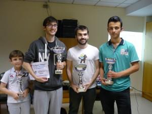 Los cuatro premiados