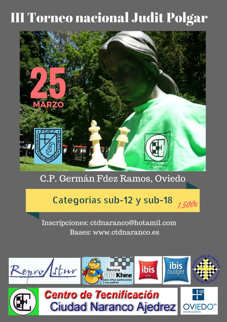 III Torneo nacional Judit Polgar