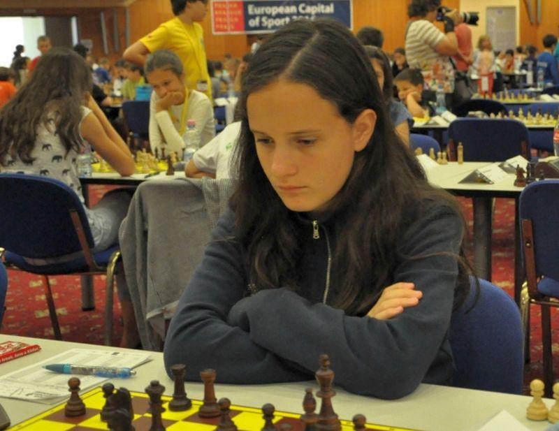 La doble campeona de España Cecilia Guillo