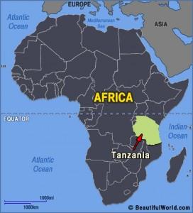 tanzania-africa-map