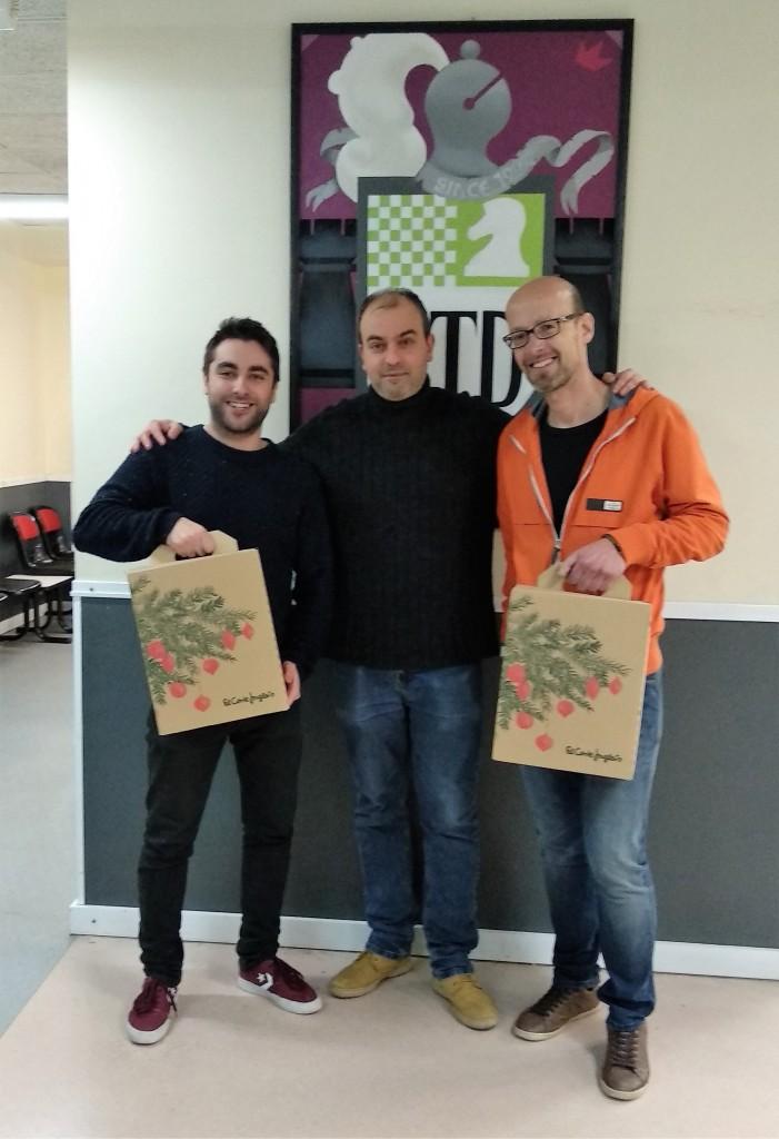 Javier Reno e Iván F Torre campeones del torneo
