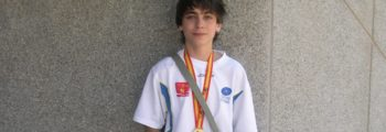 Javier Reno medalla en el Campeonato de España Infantil